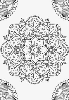 Mandala fleur simple unique doodle art doodle it. Mandala Art, Mandala Design, Image Mandala, Mandalas Painting, Mandalas Drawing, Mandala Coloring Pages, Mandala Pattern, Zentangle Patterns, Mandala Tattoo