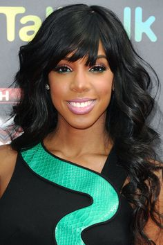 Kelly Rowland - Bright eyes and pink lips