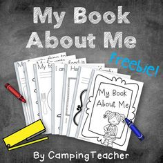 My Book About Me Freebie!
