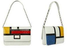 De Stijl Movement Piet Mondrian influence on design Piet Mondrian, Mondrian Dress, Yayoi Kusama, Yves Saint Laurent, Day Bag, Geometric Art, Clutch Purse, Oeuvre D'art, Primary Colors