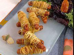 Recetas | Salchichas envueltas en papas crocantes | Utilisima.com