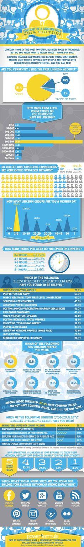 De gemiddelde LinkedIn gebruiker. Toch wel een paar mooie insights. linkedin-large-infographic-Breitbarth-140514