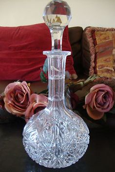 American Brilliant Liquor wine Decanter