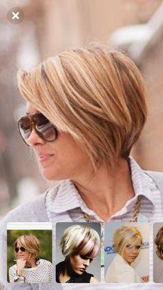 Choppy Bob Hairstyles For Fine Hair, Layered Haircuts For Medium Hair, Short Hair With Layers, Short Hair Cuts, Medium Hair Styles, Short Hair Styles, Haircut And Color, Tips Belleza, Great Hair