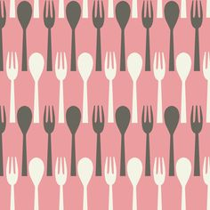 Spoon & Fork / Pink New color 2012