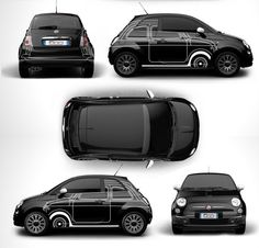 Fiat 500 Ron Arad la Plus Design des Editions Couture