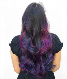 "473 Likes, 33 Comments - Amelia Violet | SD Colorist (@violetthestylist) on Instagram: ""🌅| Bird of Paradise |🌅 #violetthestylist #bouffantbabes #btconeshot_color16 #btconeshot_rainbow16…"""