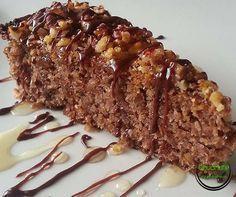 Upeč si fit koláčik bez cukru a bez múky a zamlsaj si bez výčitiek :-) Raw Food Recipes, Sweet Recipes, Dessert Recipes, Cooking Recipes, Healthy Recipes, Healthy Sweets, Healthy Cooking, Sweet Desserts, Gluten