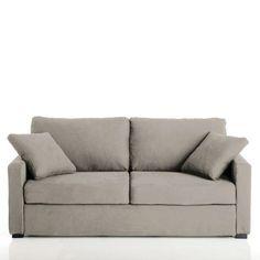 Canapé lit, couchage express, microfibre Timor
