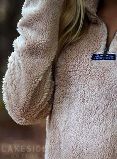 Lauren James Linden Sherpa Pullover | Lakeside Cotton