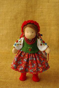 Waldorf doll // Ukrainian girl doll // Ukrainian by TaleWorld