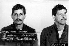 Dit is de 'vieze vetzak' zoals Sabine hem meermaals beschrijft in het boek. Dit is een echte foto van Marc Dutroux na zijn arrestatie.