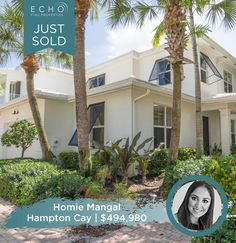Congratulations to the Pantaleon's on the sale of their beautiful home in Hampton Cay! Sold for FULL ASK! Contact our super agent Homaira Echo Mangal for all your Real Estate needs! ☎️561.657.0500 ✉️Homaira@EchoFineProperties.com #Congrats #Congratulations #Realtor #RealEstate #JustSold #NewHome #Homes #Realty #FloridaRealtor #FloridaRealEstate #HomeSweetHome #SuperAgent