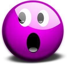 Purple Crying Smiley Face Clip Art | glassy smiley emoticon clip art