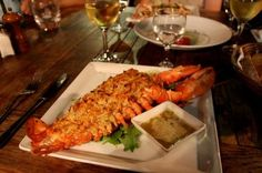 stuffed lobster, i had one of these before they are AMAZING!