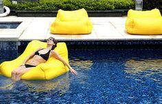 Giant Waterproof Floating Bean Bag | Buy Bean Bags | MyDeal