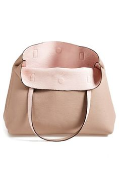 Bag for school (Street Level Reversible Faux Leather Tote & Wristlet (Juniors) available at #Nordstrom)