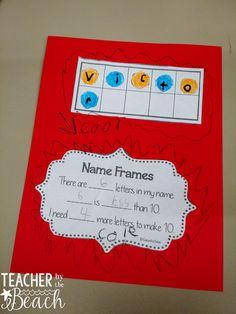 First Week Math Centers for 1st Grade