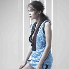 AW campaign by Jan Grombirik Fashion Labels, Contemporary Fashion, Overall Shorts, Overalls, Campaign, Anna, Vest, Praying Mantis, Jackets