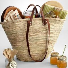 Party of 4 Picnic Basket | Wicker Blog