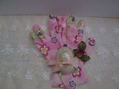 Inexpensive gift set pink garden gloves with by octobermoonsoaps