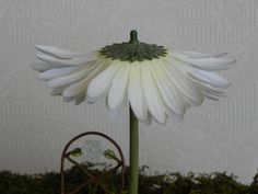 Fairy Garden Flower Umbrella miniature accessories by TheLittleHedgerow on Etsy https://www.etsy.com/listing/182703709/fairy-garden-flower-umbrella-miniature