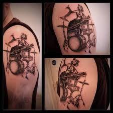 drum kit tattoo - Sök på Google