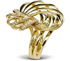 Gilded Sands #fashion #style #gold #diamond #leonsofbeverlyhills
