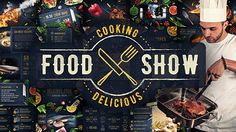Cooking Delicious Food Show (With 21 September 16  Update) - Project for After Effects (Videohive)