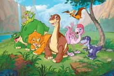 """""""The Land Before Time""""  favorite movie series of allllllllll time. <3"""