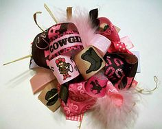 Hair bow Hair bows HairbowFunky Loopy Fabulously by 4baublesnbows, $9.99