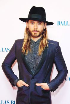 Jared Leto at Dallas Buyers Club Premier in London 1/29/14