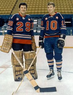 Parent and Clarke, 1970 All Star Game, St.Louis (informational link under construction)
