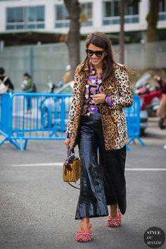 Paris SS 2017 Street Style: Georgia Tal
