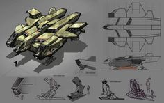 Our friend John Wu  was one of the earliest Headers on conceptships!                  Keywords: concept sci-fi science fiction spaceship sce...