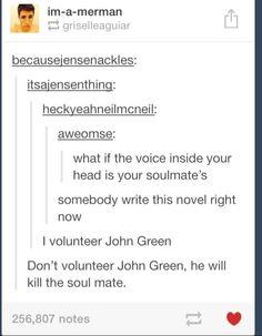 Lol john green