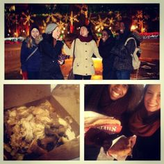 Now this looks like the perfect girls' night out! Friends, BeaverTails pastries and poutine! No wonder they're smiling :) Instagram photo by @victoriagall34 (Victoria Gallagher)