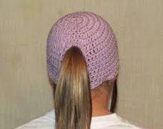 Image result for ponytail hat crochet pattern free