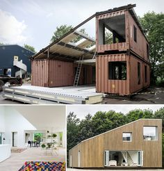 How to Make Upcycled Shipping Container House - Craftspiration - Handimania