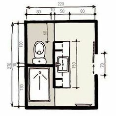 reverse shower and toilet cubby and make double vanity for smaller space