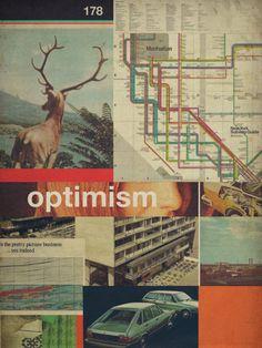 Optimism178 Art Print by Frank Moth | Society6