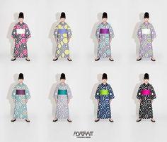 高橋理子の新作浴衣は全8色