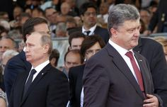 """Ukrainian President Petro Poroshenko's bid to drop the country's official """"non-aligned"""" status amounts to an application to join NATO and therefore makes Ukraine a """"potential enemy"""" of Russia, Prime M"""