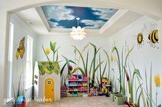 bug / insect kids playroom     greyhouseharbor.com