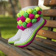 Crochet Boots and Slippers
