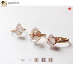 Ring pierres précieux bijoux