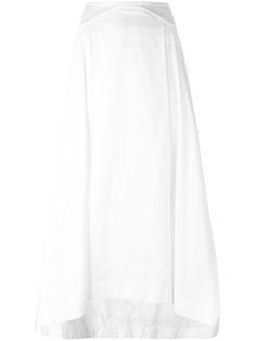 JIL SANDER Flared Skirt. #jilsander #cloth #skirt
