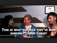 Andy and CC read 50 shades lol