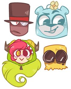 Villainous Sticker Set by rennygade