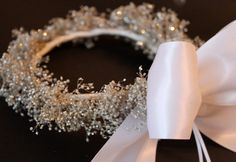 Really digging the gold baby's breath for the wedding! Etsy listing at http://www.etsy.com/listing/93960739/natural-baby-breath-hair-accessory-white